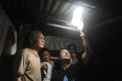 Light in a Bottle: How water in a Bottle brought light to millions in theDark.
